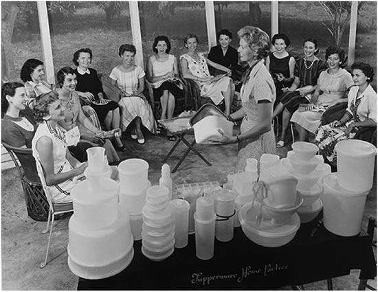 50s Tupperware Party